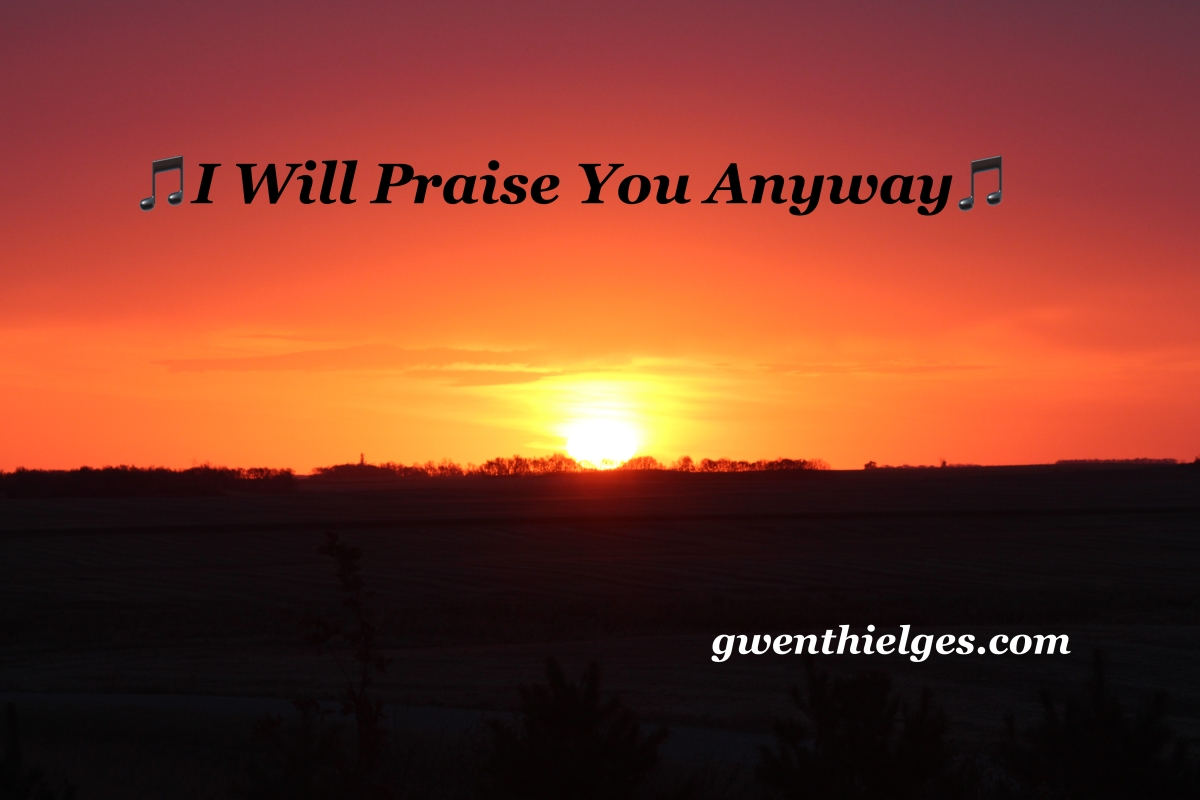 I Will Praise You Anyway